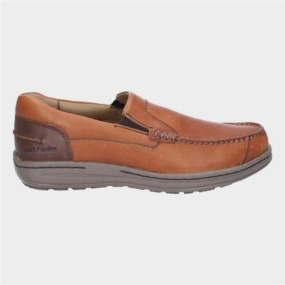 Hush Puppies Mens Murphy Victory in Tan