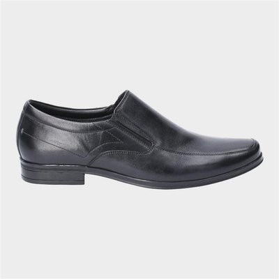 Hush Puppies Mens Billy Slip On Shoe in Black