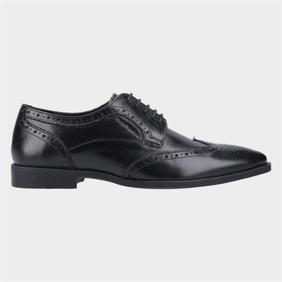 Hush Puppies Brace Mens Lace Up Brogue in Black