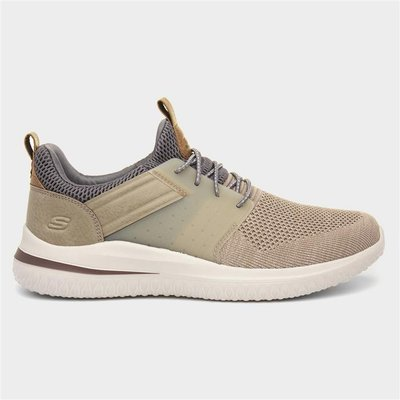 Skechers Delson Cicada Mens Taupe Shoe