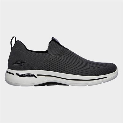 Skechers Mens Go Walk Arch Fit Iconic in Grey