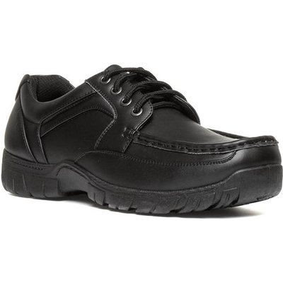 Beckett Black Lace Up Mens Shoe