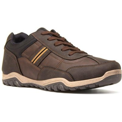 Beckett Mens Brown Casual Lace Up Shoe
