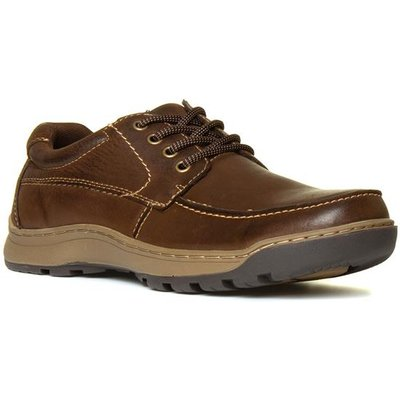 Hush Puppies Tucker Mens Brown Leather Shoe