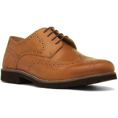 Red Tape Wesley Mens Tan Lace Up Shoe