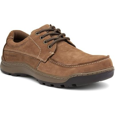 Hush Puppies Tucker Mens Tan Lace Up Shoe
