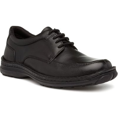 Hush Puppies Curtis Mens Black Lace Up Shoe