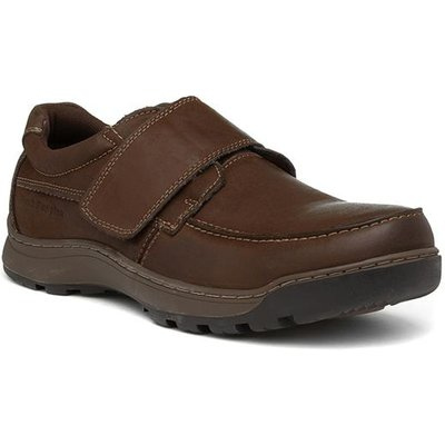 Hush Puppies Casper Mens Brown Leather Shoe