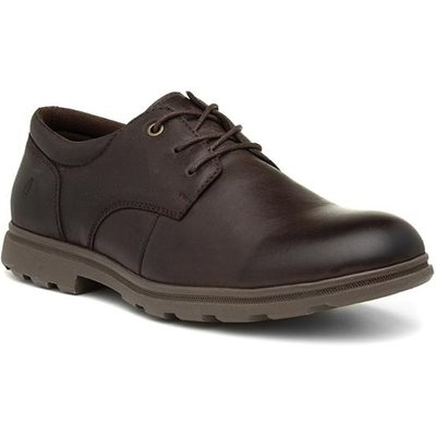 Hush Puppies Trevor Mens Brown Leather Shoe