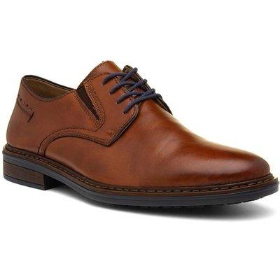 Rieker Mens Tan Lace Up Leather Formal Shoe