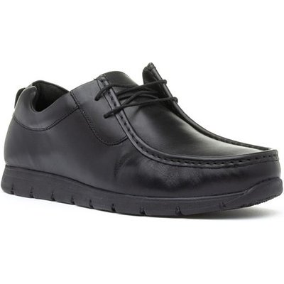 Red Tape Norton Mens Black Lace Up Shoe