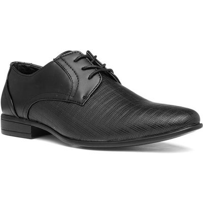 Beckett Mens Black Lace Up Formal Shoe
