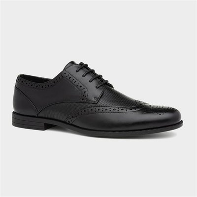 Beckett Mens Formal Lace Up Shoe in Black