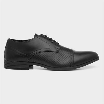 Beckett Mens Black Lace Up Shoe