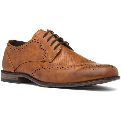 Beckett Mens Lace Up Tan Brogue Shoe