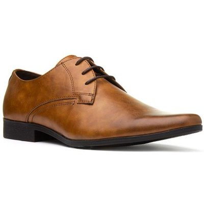 Beckett Mens Lace Up Formal Shoe in Tan