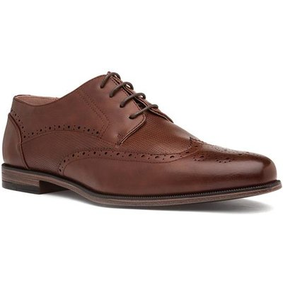 Beckett Mens Brown Lace Up Brogue Shoe