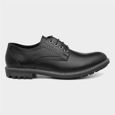 Beckett Mens Formal Lace Up Black Shoe