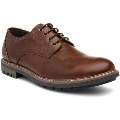 Beckett Mens Lace Up Formal Shoe in Brown