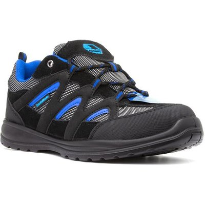 Earth Works Unisex Black Lace Up Safety Shoe