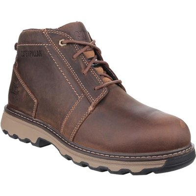 CAT Mens Parker Boot Brown Safety Boot