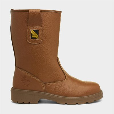 Earth Works Tan Leather Safety Boot