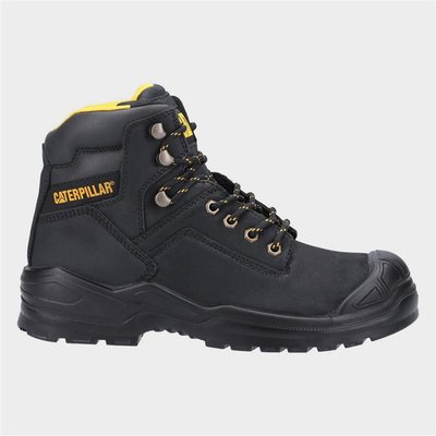 CAT Safety Footwear Mid S3 Mens Boot in Black