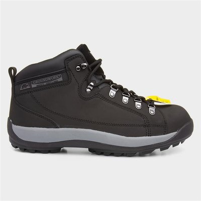 Groundwork GR387 Adults Safety Boot in Black