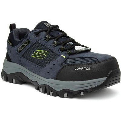 Skechers Greetah Unisex Navy Lace Up Safety Shoe