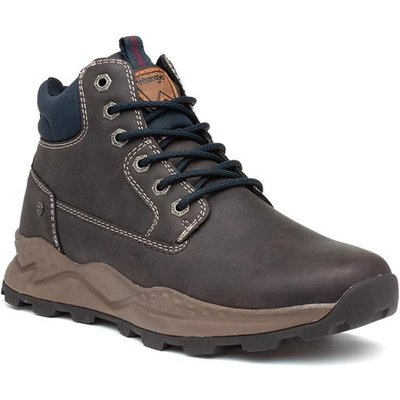 Wrangler Crossy Yuma Mens Brown Lace Up Boot