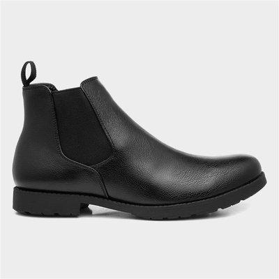 Beckett Mens Chelsea Boot in Black