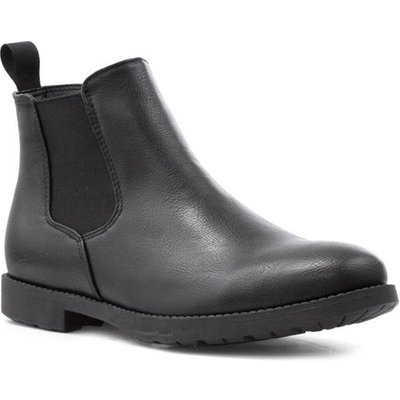 Beckett Mens Chelsea Boot in Black