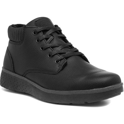 Sprox Mens Black Ankle Lace Up Boot