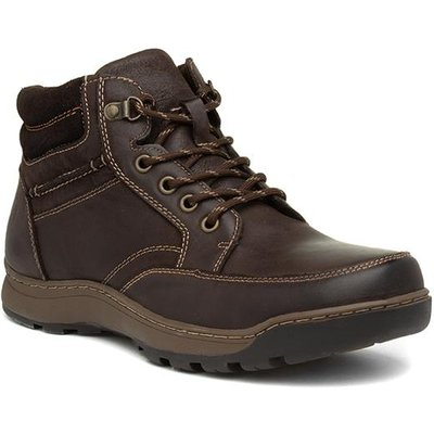 Hush Puppies Grover Mens Brown Leather Boot