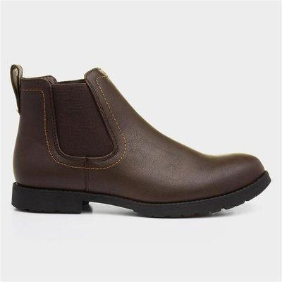 Beckett Mens Brown Pull On Chelsea Boot