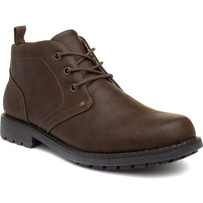 Urban Territory Mens Brown Lace Up Boot