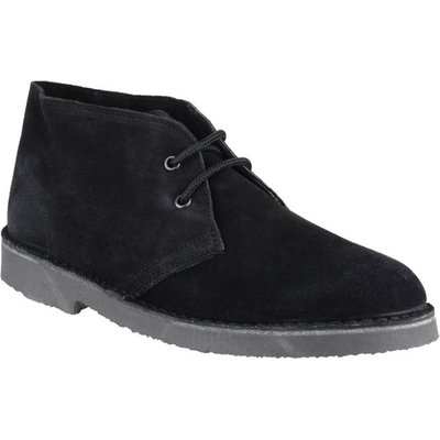 Cotswold Mens Sahara Desert Boot in Black