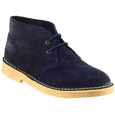 Cotswold Mens Sahara Desert Boot in Blue