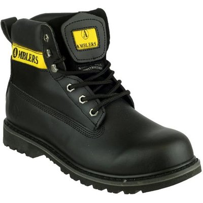 Amblers Mens Banbury Casual Boot in Black