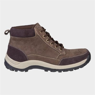 Cotswold Mens Slad Lace Up Boot in Brown