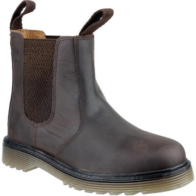Amblers Mens Chelmsford Dealer Boot in Brown