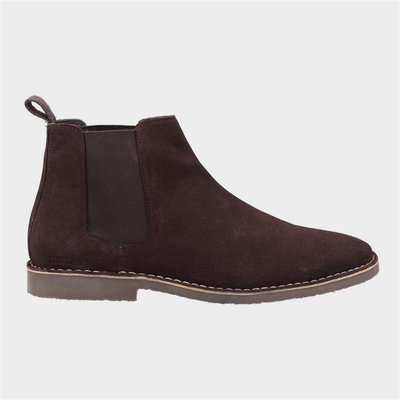 Hush Puppies Mens Eddie Chelsea Boots in Brown