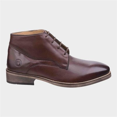 Cotswold Mens Maugesbury Brown Leather Ankle Boot