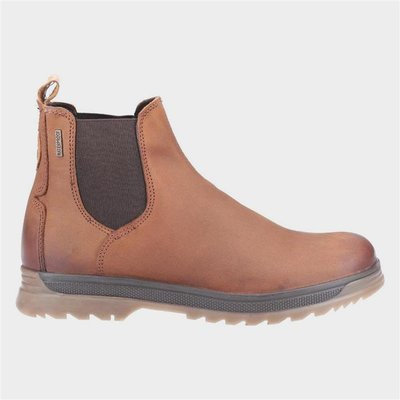 Cotswold Mens Winchcombe Tan Leather Chelsea Boot