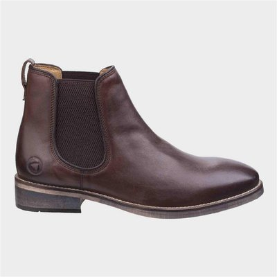 Cotswold Corsham Mens Brown Leather Chelsea Boot