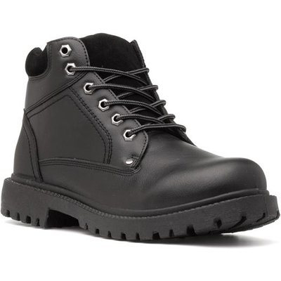 Beckett Mens Lace Up Boot in Black