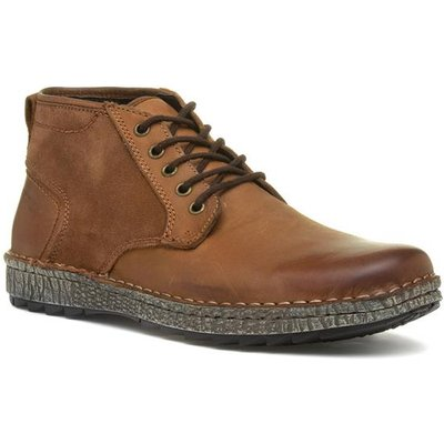 Hush Puppies Gus Tan Lace Up Boot