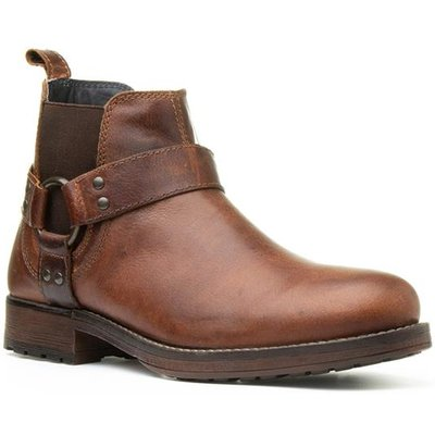 Red Tape Albany Mens Brown Ankle Boot