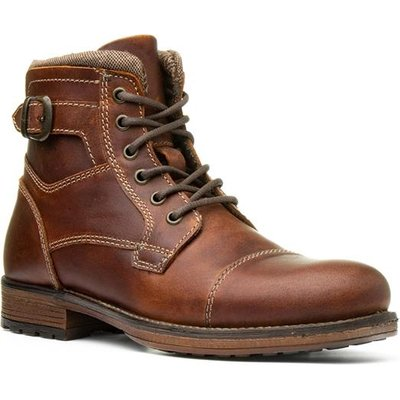 Red Tape Hawthorne Mens Brown Lace Up Boot