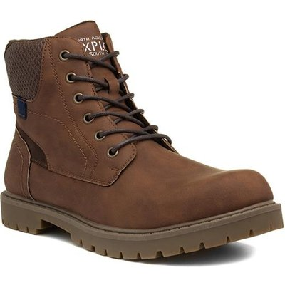 Sprox Mens Light Brown Lace Up Boot